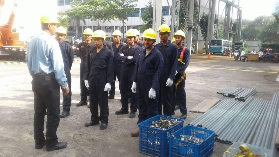 Public Training Teknisi dan Supervisi Perancah