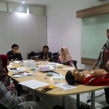 Pelaksanaan Pelatihan K3 Petugas P3K Publik 18 Juli 2017
