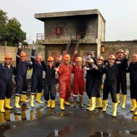 Pelaksanaan Pelatihan Regu Kebakaran Kelas C PT. Jalan Tol Lingkar Luar 17 Juli 2017