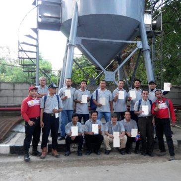 Pelaksanaan Pelatihan K3 Utama Ruang Terbatas Publik 24 Juli 2017