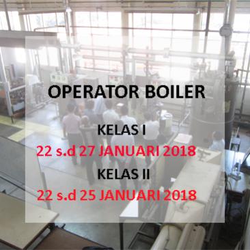 Oprator Boiler