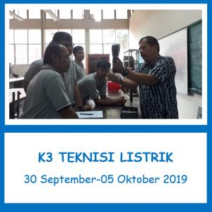 confirm running_pelatihan k3_sertifikasi_kemnaker RI_k3 teknisi listrik_pt upaya riksa patra_jakarta.