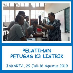 confirm running_pelatihan k3_sertifikasi_kemnakerRI_teknisi listrik_pt upaya riksa patra_jakarta