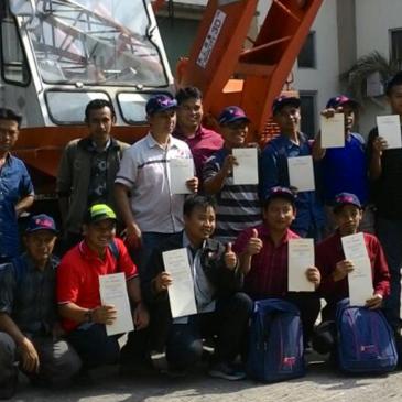 Pelaksanaan Pelatihan Operator Crane 01 s.d 04 Agustus 2017