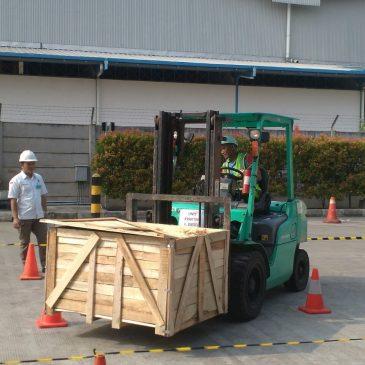 Pelaksanaan Pelatihan Operator Forklift PT. Senopati 12 Agustus 2017