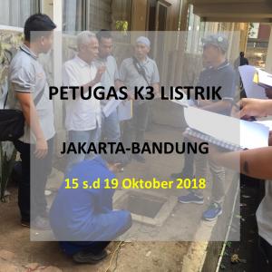 petugas k3 listrik_Confirm running_Jakarta
