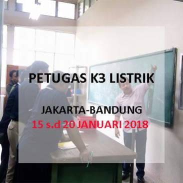 Petugas K3 Listrik