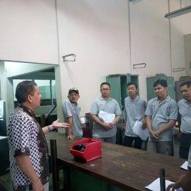 Pelaksanaan Pelatihan Petugas K3 Listrik 31 Juli s.d 4 Agustus 2017