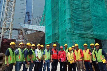 Pelaksanaan Pelatihan Ahli K3 Muda Konstruksi PT. Graha Sarana Duta, 4 – 8 September 2017