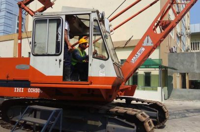 Pelaksanaan Pelatihan Operator Crane Publik 05 s.d 08 September 2017