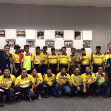 Pelaksanaan Pelatihan Petugas Kebakaran Kelas D Inhouse PT. Coca Cola Amatil Indonesia, 18 s.d 19 September 2017