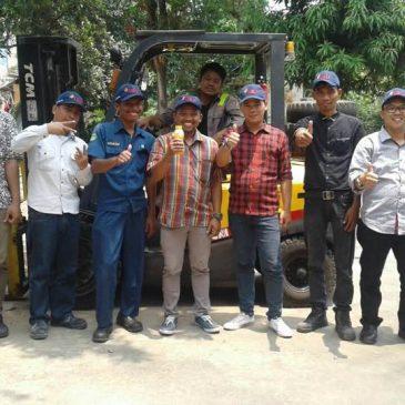 Pelaksanaan Pelatihan Operator forklift Reguler – Bekasi, 18 s.d 20 September 2017
