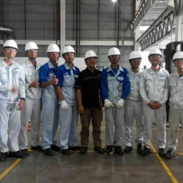 Pelaksanaan Pelatihan Operator Crane PT Sango Ceramics Indonesia 18 s.d 20 September 2017