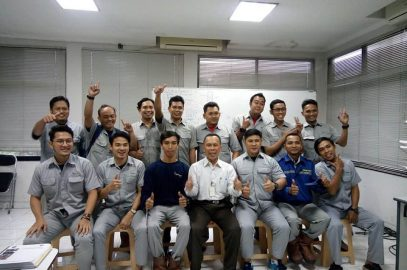 Pelaksanaan Pelatihan K3 Operator Boiler Kelas I Inhouse PT Fajar Surya Wisesa, 25 s.d 30 September 2017