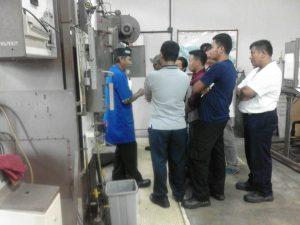 training operator boler kelas 1 dan 2