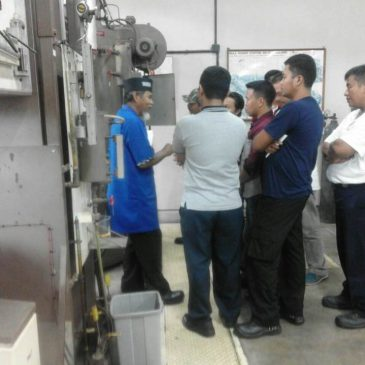 Pelaksanaan Pelatihan K3 Operator Boiler Kelas I dan Kelas II Publik 25 s.d 30 September 2017