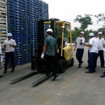 Pelaksanaan Pelatihan K3 Operator Forklift PT. Best Logistics Service – karawang, 02 s.d 04 November 2017