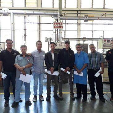Pelaksanaan Pelatihan K3 Operator Boiler Kelas I dan Kelas II Publik, 20 s.d 26 November 2017