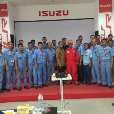 Pelaksanaan Pelatihan Petugas Kebakaran Kelas D Inhouse PT. Isuzu Astra Motor Indonesia, 19 s.d 20 Oktober 2017