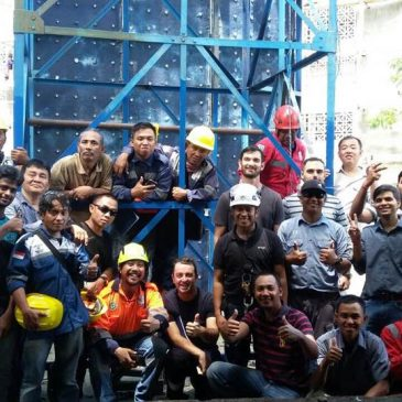 Pelaksanaan Pelatihan Tenaga Kerja Bangunan Tinggi Tingkat 2 PT Siemens Ganesa Pare-Pare Inhouse, 18 s.d 19 November 2017