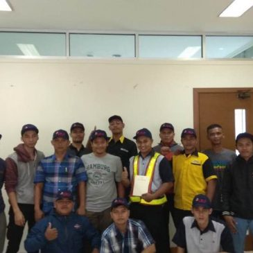 Pelaksanaan Pelatihan K3 Operator Forklift Publik, 05 s.d 07 Desember 2017