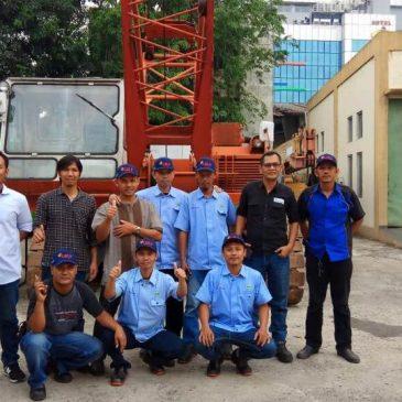 Pelaksanaan Pelatihan Operator Crane Publik, 13 s.d 16 November 2017