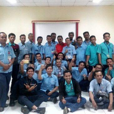 Pelaksanaan Pelatihan K3 Operator Forklift Inhouse PT Pindo Deli Pulp & Paper, 22 s.d 24 Januari 2018