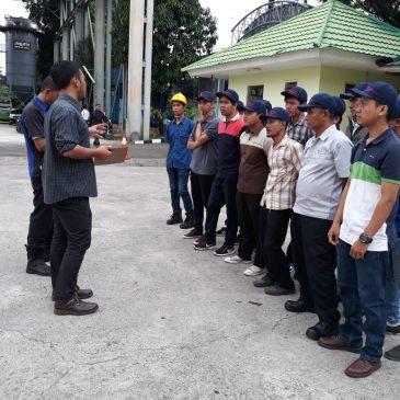 Pelaksanaan Pelatihan K3 Operator Forklift Publik, 16 s.d 18 Januari 2018