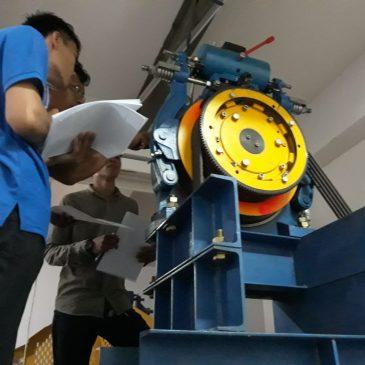 Pelaksanaan Pelatihan K3 Teknis Lift Publik, 08 s.d 13 Januari 2018