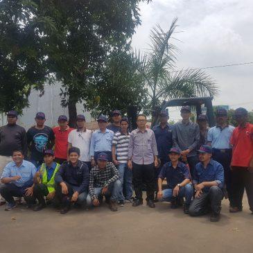 Pelaksanaan Pelatihan K3 Operator Forklift Publik, 09 s.d 11 Januari 2018