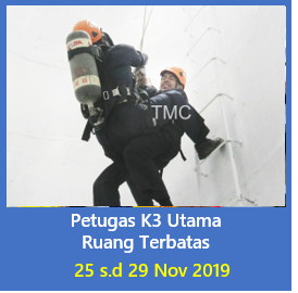 petugas k3 ruang terbatas 25 nov 2019