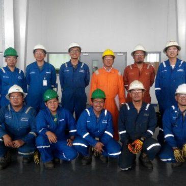 Pelaksanaan Pelatihan Operator Crane Refresh Inhouse PT Schlumberger Indonesia , 10 Januari 2018
