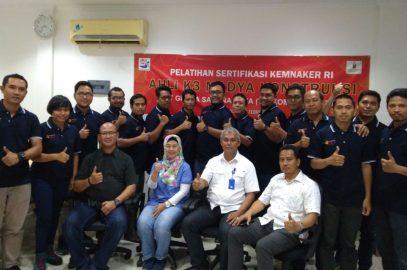 Pelaksanaan Pelatihan Ahli K3 Madya Konstruksi PT Graha Sarana Duta (Telkom Property), 05 s.d 13 Februari 2018