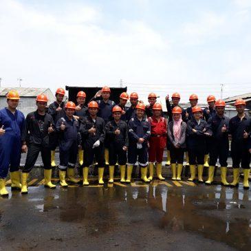 Pelaksanaan Pelatihan Regu Kebakaran Kelas C (Fire C) Inhouse PT Frisian Flag Indonesia, 29 Januari s.d 02 Februari 2018