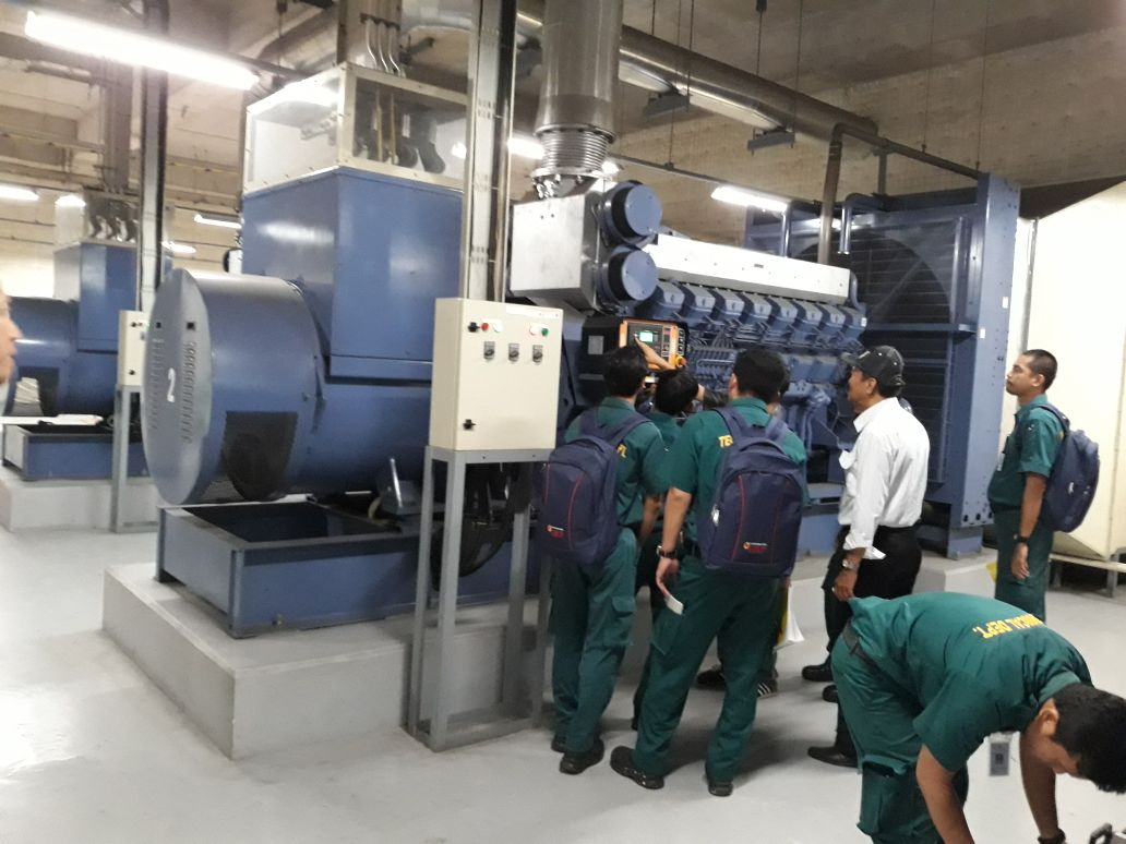 Pelaksanaan Pelatihan K3 Diesel Inhouse PT Senayan