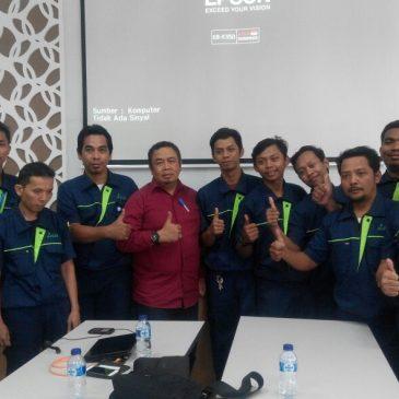 Pelaksanaan Pelatihan Petugas K3 Teknisi Listrik Inhouse PT Airkon Pratama, 19 s.d 23 Maret 2018