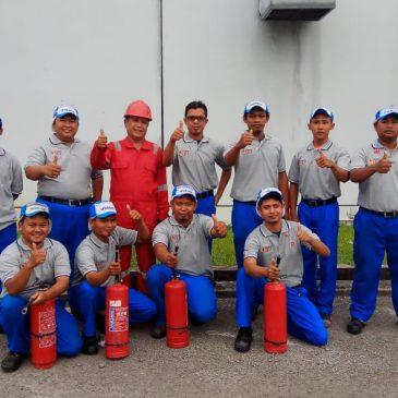 Pelaksanaan Pelatihan Petugas Kebakaran Kelas D (Fire D) Inhouse PT Unicharm, 22 s.d 23 Mei 2018