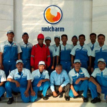 Pelaksanaan Pelatihan Petugas Kebakaran Kelas D (Fire D) Inhouse PT Unicarm, 03 s.d 04 Mei 2018