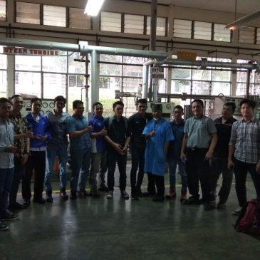 Pelaksanaan Pelatihan K3 Operator Boiler Kelas I dan Kelas II Publik, 30 April s.d 07 Mei 2018
