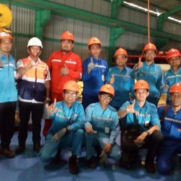 Pelaksanaan Pelatihan Juru Ikat (Rigger) Inhouse PT Indonesia Power, 22 s.d 24 Mei 2018