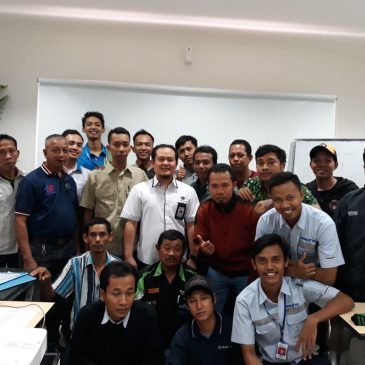 Pelaksanaan Pelatihan K3 Operator Forklift Publik, 07 s.d 09 Mei 2018