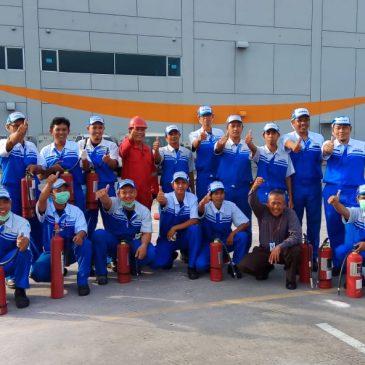 Pelaksanaan Pelatihan Petugas Kebakaran Kelas D (Fire D) Inhouse PT Unicharm, 17 s.d 18 Mei 2018