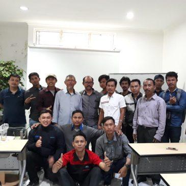 Pelaksanaan Pelatihan K3 Operator Boiler Kelas I dan Kelas II Publik, 13 s.d 16 Agustus 2018