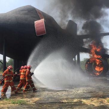 Pelaksanaan Pelatihan Fire C dan D, Sertifikasi Kemnakertrans RI Publik, 30 Juli s.d 03 Agustus 2018