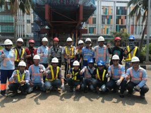 k3 tenaga kerja bangunan tinggi tingkat 2