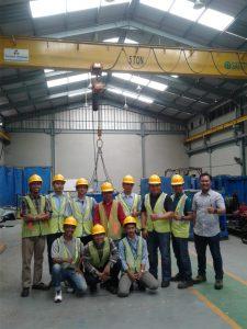 pelatihan operator crane kelas 3