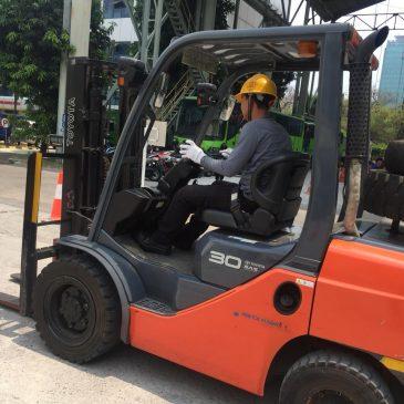Pelaksanaan Pelatihan K3 Operator Forklift Publik, 09 s.d 11 Oktober 2018 Jakarta