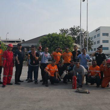 Pelaksanaan Pelatihan Petugas Kebakaran Fighting Inhouse PT Hexindo Adiperkasa, 03 s.d 04 Oktober 2018