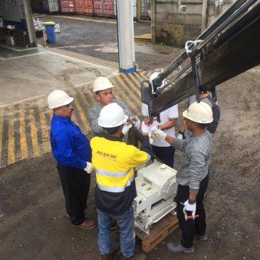 Pelaksanaan Pelatihan K3 Operator Crane Inhouse PT Pontil Indonesia, 28 s.d 30 November 2018