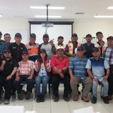 Pelaksanaan Pelatihan Juru Ikat (Rigger) Inhouse PT Freeport Indonesia, 04 s.d 06 Desember 2018, Papua
